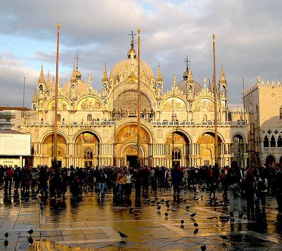 Piazza San Marco de Venecia (Italia)
