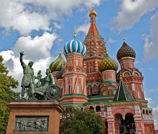 Plaza Roja de Moscú (Rusia)