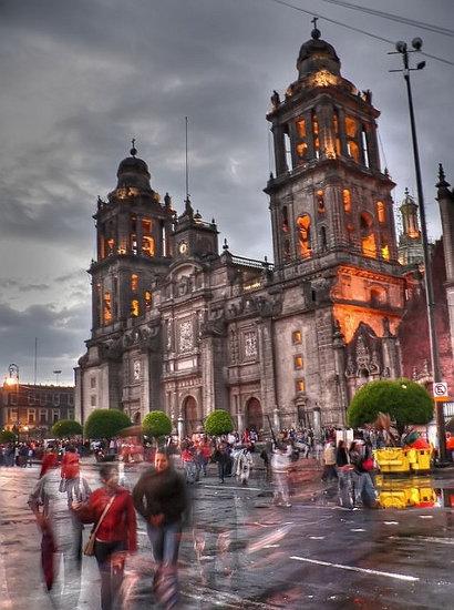 Plaza del Zócalo en Ciudad de México (México)