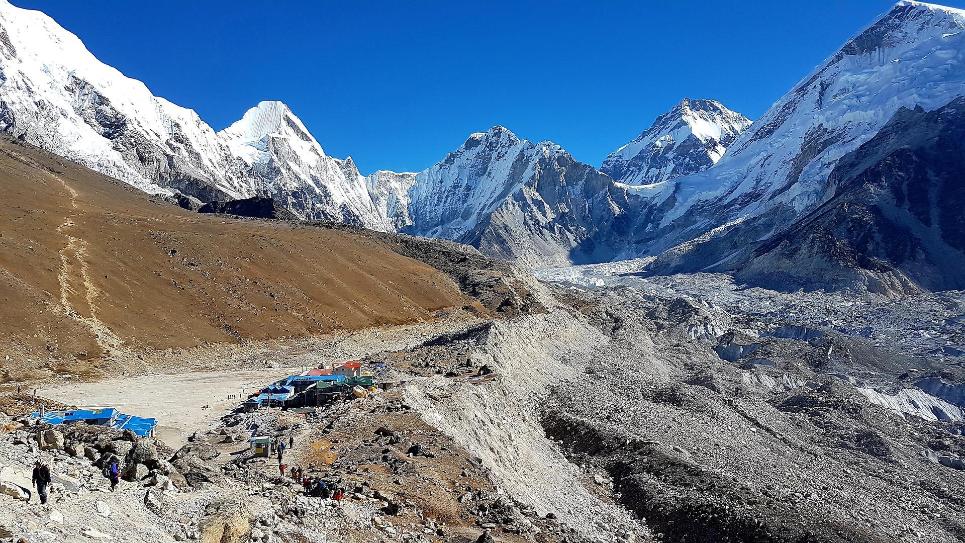 base del Everest