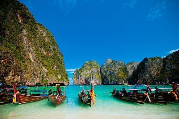 Maya Bay, Ko Phi Phi (Tailandia)