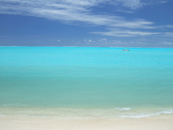 Playa de Matira, Bora Bora, (Polinesia Francesa)