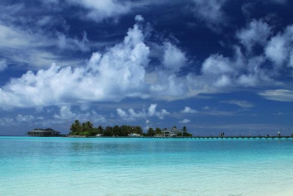 Sun Beach Island, (Islas Maldivas)