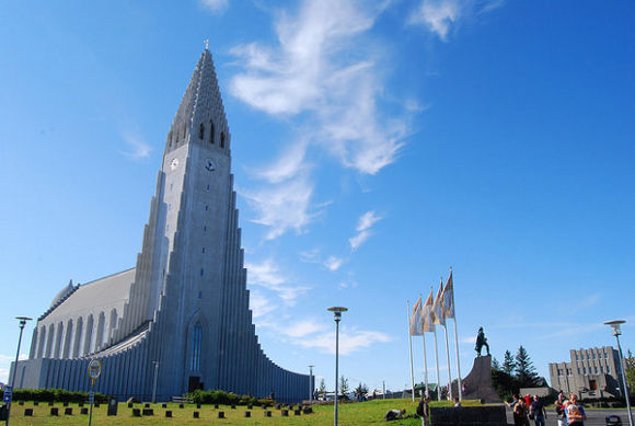 Hallgrímskirkja, Reikiavik (Islandia)