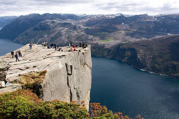El Púlpito en Noruega