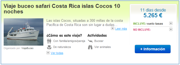 Viajes de buceo a Costa Rica