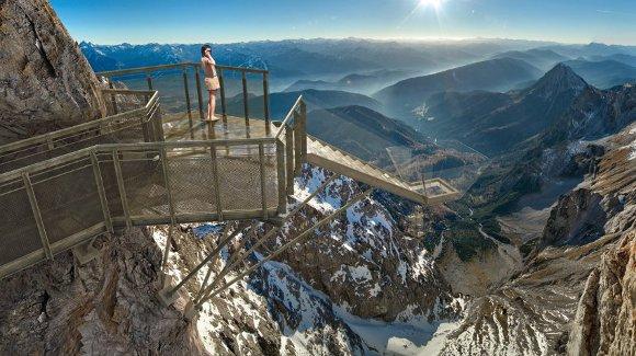 Puente suspendido de Dachstein (Austria)
