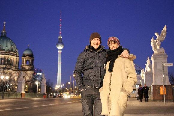 Haritz y Rebeca en Berlín