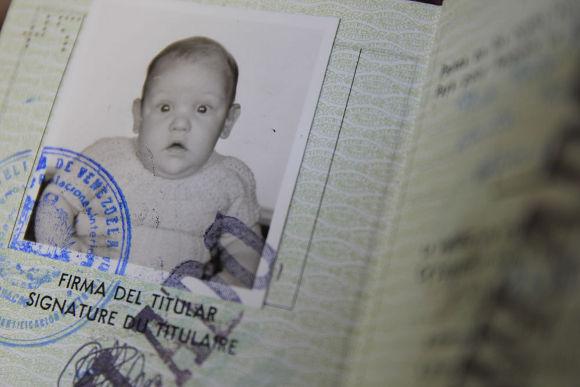 El primer pasaporte de Haritz