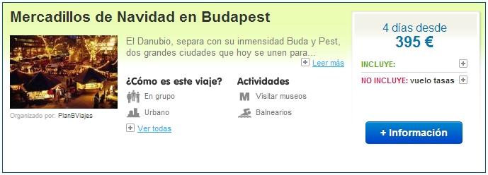 Viajes a Budapest