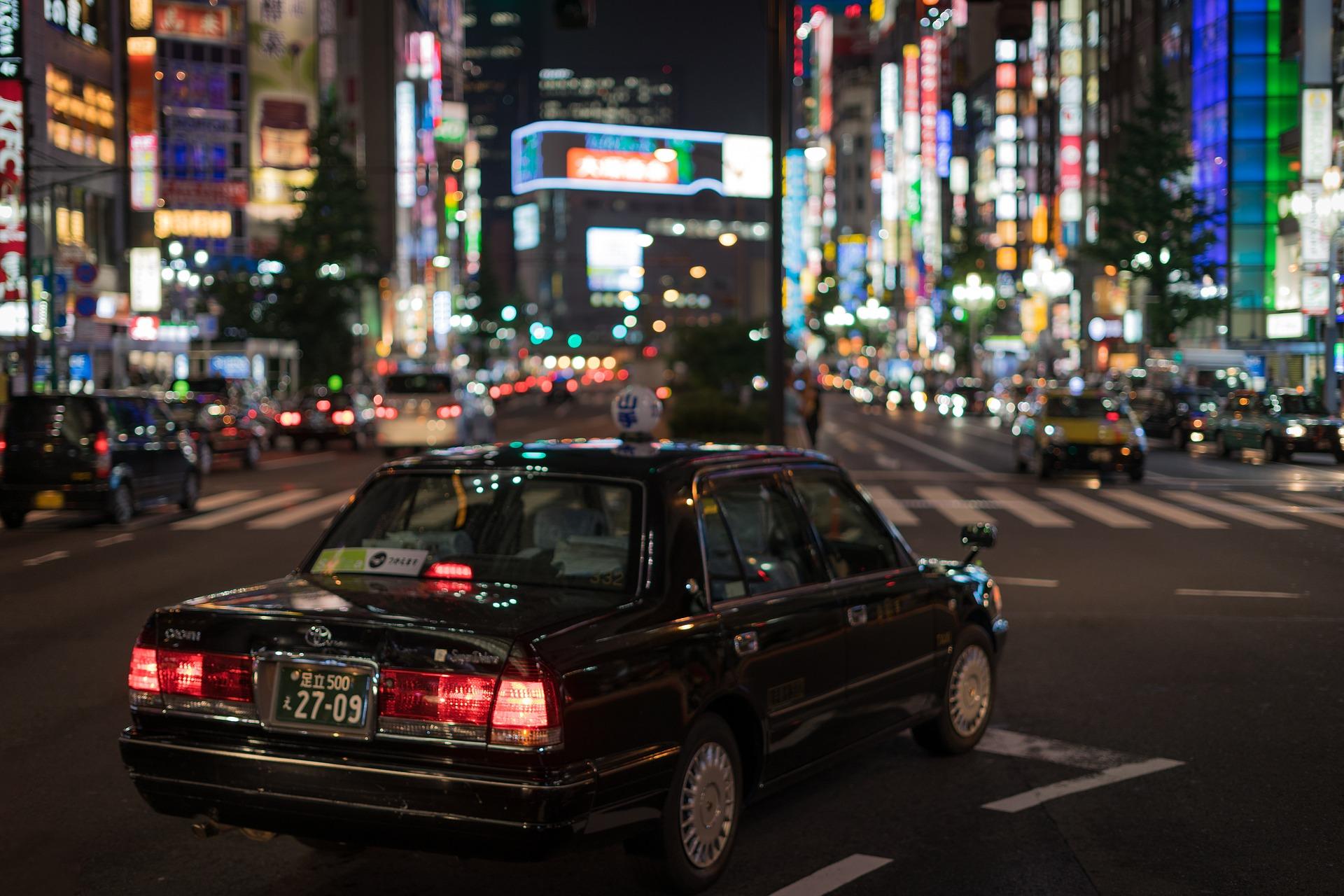 taxi tokio