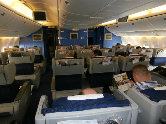 Viajes en primera clase