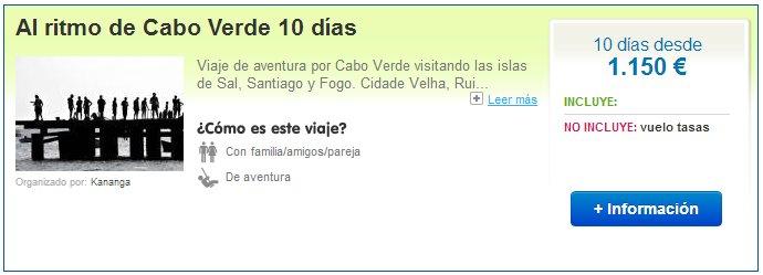 Viajes a Cabo Verde