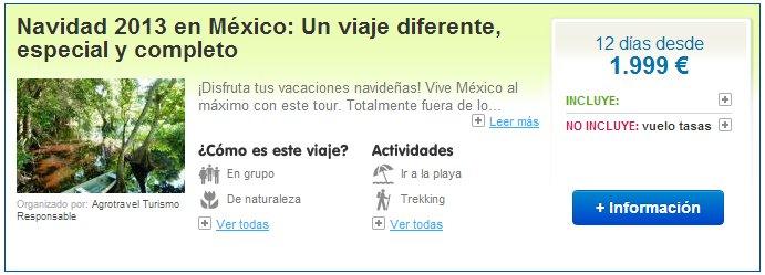 Viajes a México en Navidad
