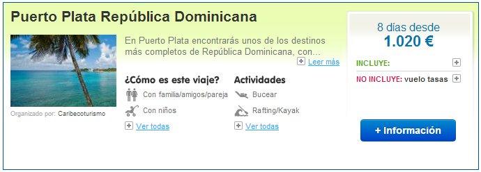 Viajes a República Dominicana