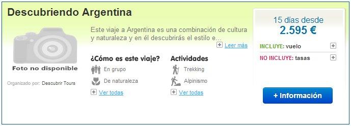 Viajes a Argentina en invierno