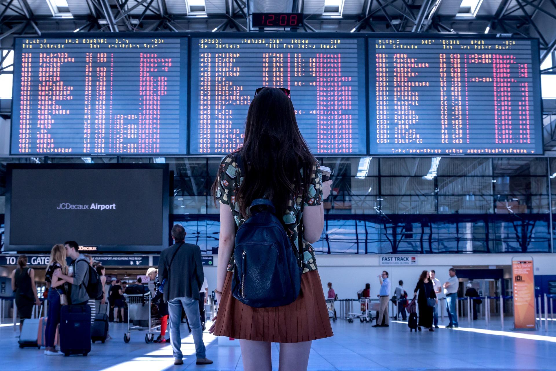 aeropuerto, vuelos