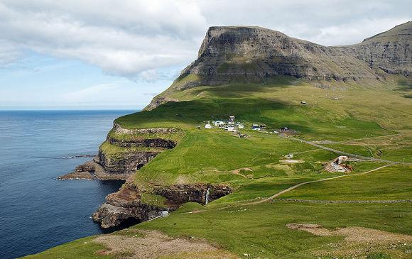 Gásadalur en las Islas Feroe