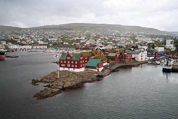 Tinganes, Tórshavn en Islas Feroe