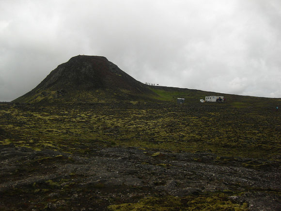 Volcán Thrihnukagigur, Islandia