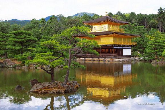 Pabellón Dorado, Kioto