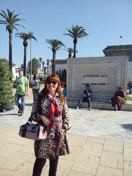 Marta en Casablanca
