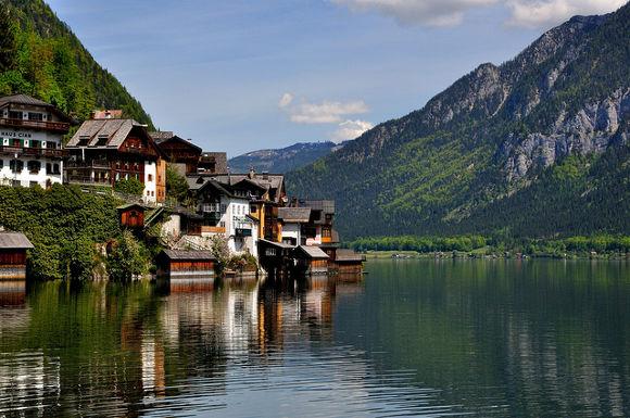 Hallstat en los Alpes de Austria