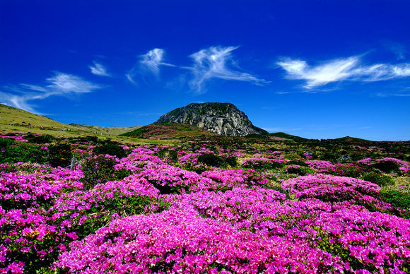 Maravillas naturales de Asia, Jeju en Corea