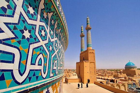 Masjid-e-Jameh Yazd en Irán