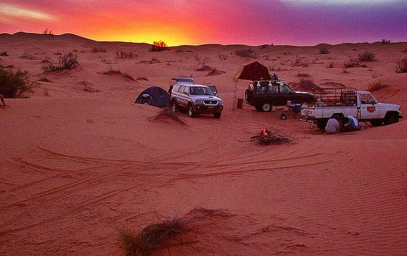 Sahara, Túnez