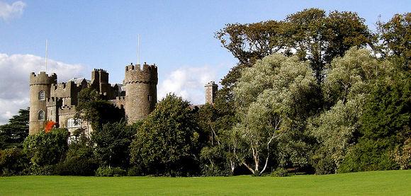 Castillo de Howth en Irlanda