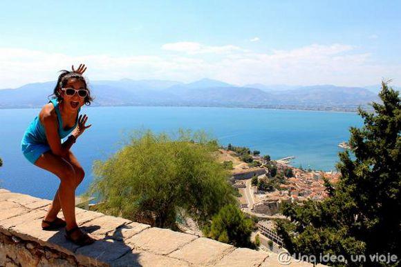 Eva en el Peloponeso, Grecia