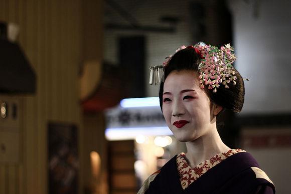 Maiko en Japón