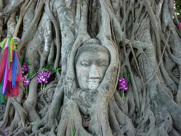 Wat Mahathat, Ayuthaya, Tailandia