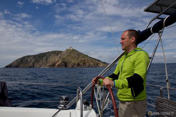 Cabo Finisterre en velero
