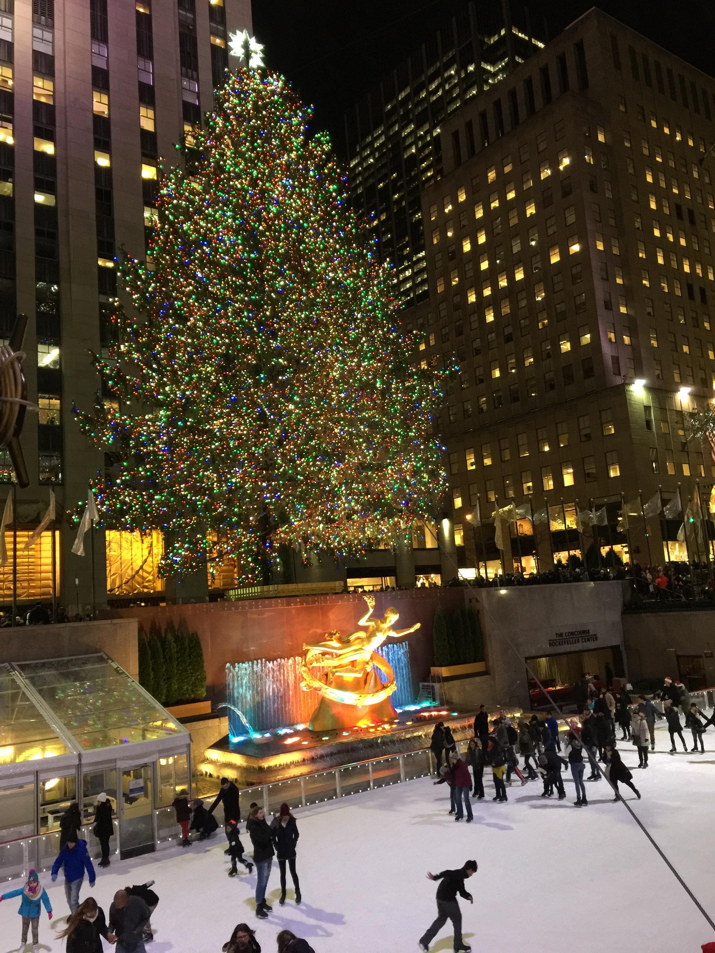 navidad Rockefeller center
