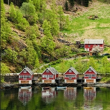 Viajes a Noruega en familia