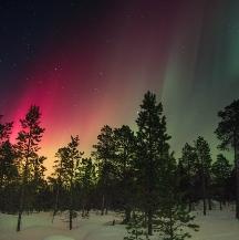 Viajes a Groenlandia para ver auroras boreales