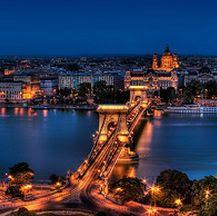 Budapest en el puente del Pilar