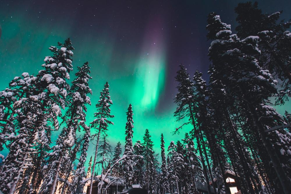 Viajes para ver auroras boreales