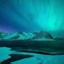 Magia Boreal en el faro de Senja (Noruega)