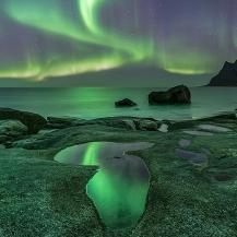 Noruega: Lofoten, auroras boreales y trineo de perros