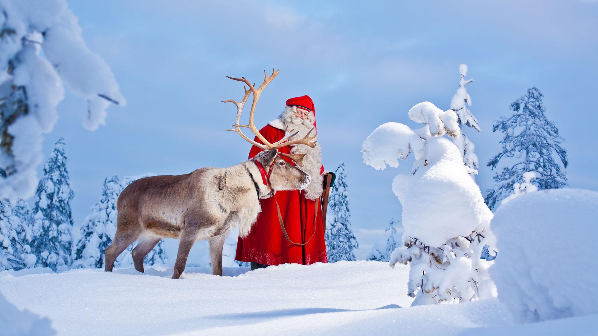 Viajes para Navidad, Santa Claus en Rovaniemi