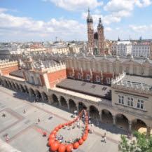 Puente de diciembre en Cracovia y Varsovia (Polonia)