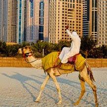 Puente de diciembre en Dubai para singles