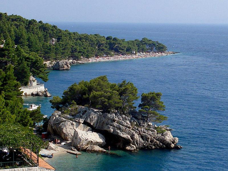 Mejores playas de Croacia PUNTA RATA (BRELA)