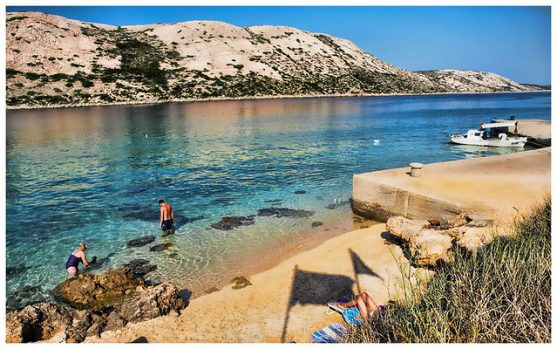 Mejores playas Croacia RAJSKA