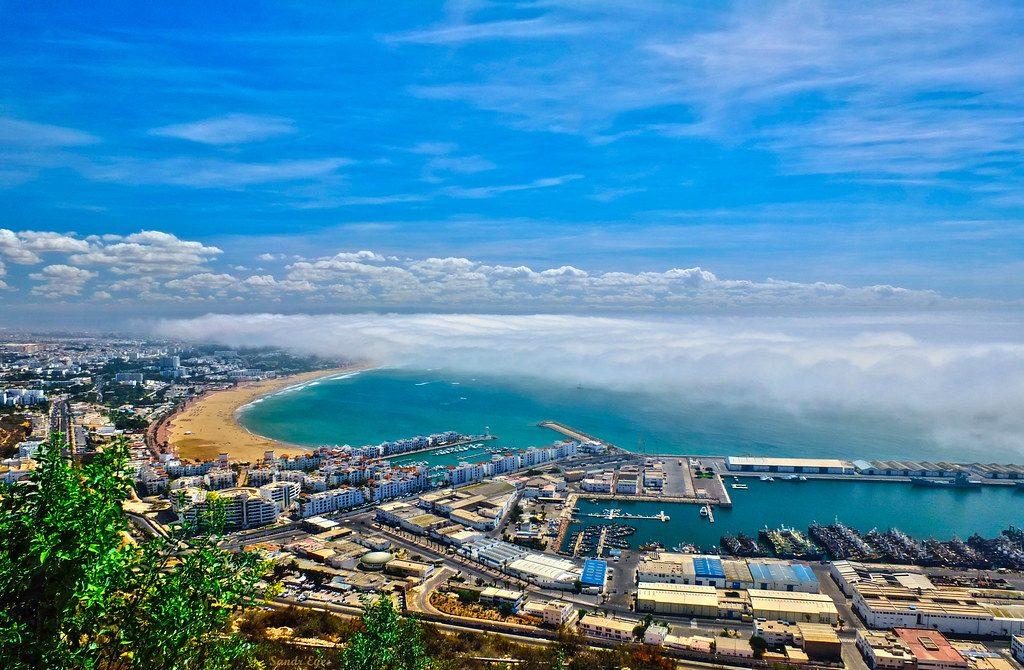 Agadir Playa de Marruecos