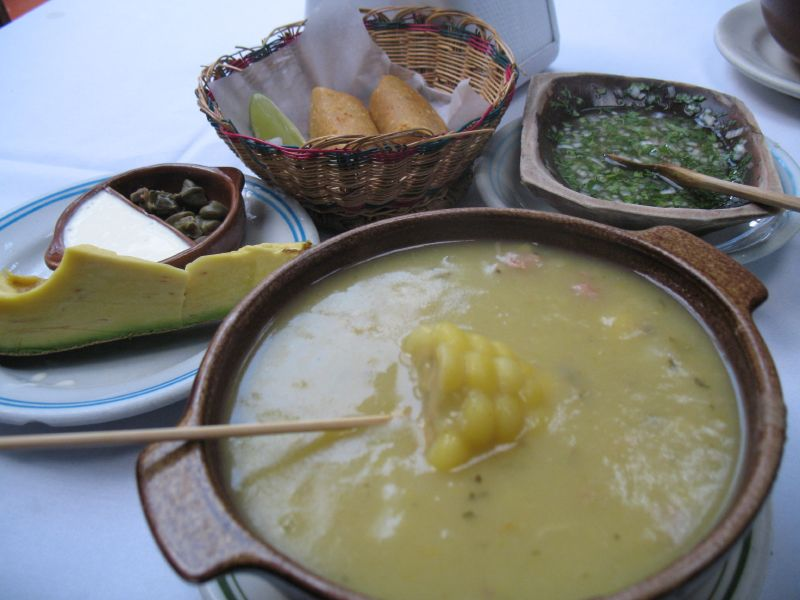Ajiaco comida de Cuba