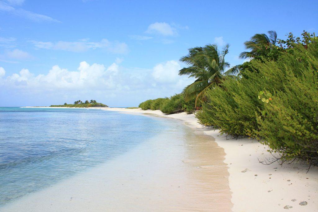 Cayo Bolívar Playas de Colombia